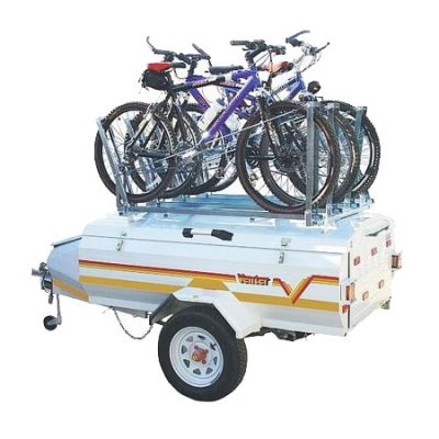 Bicycle rack for 4 bikes